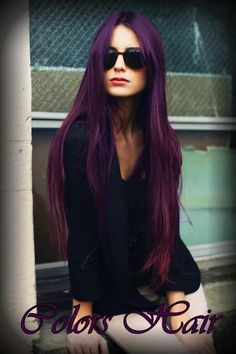 I never wanted purple hair until riiight now.