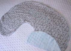 Boppy Pillow Cover Nursing Pillow Cover Grey by LittleLovesDesigns, $26.95