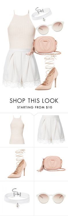 """Untitled #294"" by dreamer3108 on Polyvore featuring River Island, Zimmermann, Valentino, Mario Valentino and self-portrait"