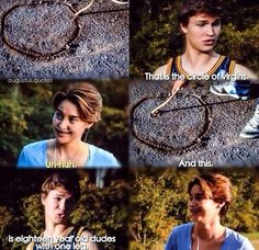 Hahah #TFIOS MY HEART WHY IS HE SO ADORABLE IN EVERYTHING HE DOES