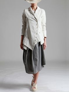 TENCEL SKIRT - JACKETS, JUMPSUITS, DRESSES, TROUSERS, SKIRTS, JERSEY, KNITWEAR, ACCESORIES - Woman -