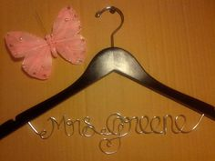 Personalized Wedding Hangers Bridal Hangers by duartespecialgifts, $19.99
