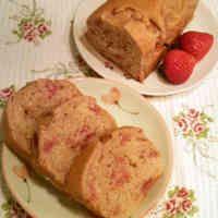 春色★いちごのパウンドケーキ