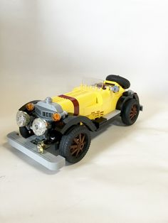 "Mercedes-Benz SSK ""LUPIN the Third"" LEGO by piroshilego69"