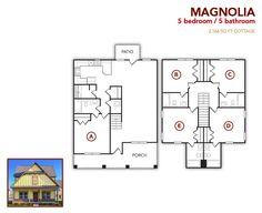 5 bedroom, 5 bath Magnolia