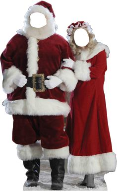 Advanced Graphics Christmas Santa & Mrs. Claus Stand-in Cardboard Stand-Up & Reviews   Wayfair