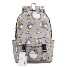 Seamand Anime My Neighbor Totoro Backpack Bag School Bag Style C Source by yinfa Bags Totoro Backpack, Backpack Bags, Rucksack Bag, Cute Backpacks, School Backpacks, Animal Backpacks, Studio Ghibli, Mode Kawaii, My Neighbor Totoro