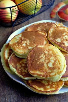 Pancakes, Healthy Recipes, Breakfast, Yummy Food, Fit, Essen, Morning Coffee, Delicious Food, Shape