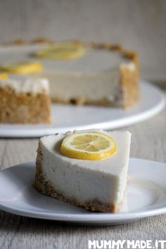 This Lemon Cauliflower Cheesecake is Gluten Free, Dairy Free, Nut Free, Paleo and Vegan friendly, refined Sugar Free and so very tasty!