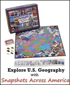 Explore U.S. Geography with Snapshots Across America