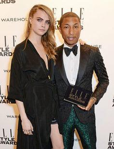 Cara presenting the international recording artist award ELLE Style Awards 2014: the winners | ELLE UK