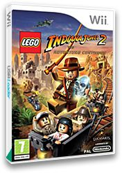 LEGO Indiana Jones 2:The Adventure Continues Wii cover (RL4P64)