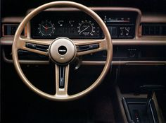 1978 Mazda 929L. I love how big that clock is - this is a car for the man serious about time-keeping!