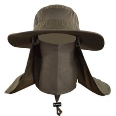 25b3c1474f7 Outdoor Men Women Large Round Brim Sun Block Quick Drying Fishing Hats  Summer Sun Cap For Travel Mountain Climbing Bucket Hat.
