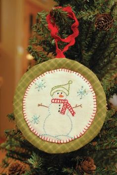 Another cute stitched ornament from the Aurafil designer series!  :)