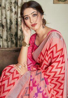 Designer Printed Linen Sarees Collection at Wholesale Rate Beautiful Blonde Girl, Beautiful Girl Indian, Beautiful Saree, Beautiful Gorgeous, Beauty Full Girl, Beauty Women, Indian Girl Bikini, Most Beautiful Bollywood Actress, Indian Actress Photos