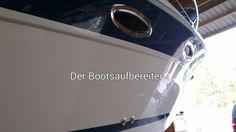 Polieren einer #Bavaria 27 Sport.  #derbootsaufbereiter #bootsservice #yachtservice #bootspflege #polieren #polish #versiegeln #aufbereiten #aufbereitung #vorhernachher #bsze #bs #boot #dba #Bodensee