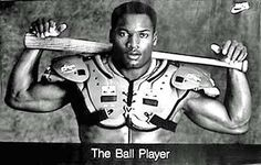Bo Jackson. Two-sport athlete. Legend.