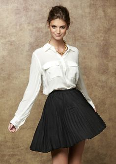 """The """"FC - Fast Perfect Pleat Skirt"""" ... It really IS perfect!"""