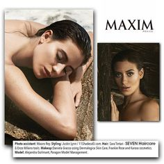 Second look from the @maximmexico one year anniversary cover featuring model and actress, @aleguilmant. Stylist @saratintari created the look by adding DIAMOND serum to wet hair for brilliant shine and reflection.  Model @aleguilmant  Photographer @m_marcovich  Photo Editor @charitarogers  MUA @danimtz86 using @karoracosmetics  Stylist @justin_lynn11  #SEVENhaircare #Maxim #MaximMexico #covershoot #editorial
