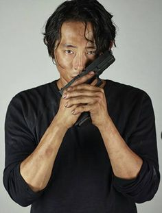 The Walking Dead season 5. Glenn