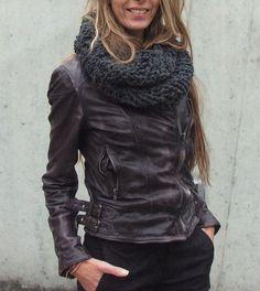Jacket + scarf
