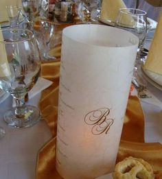 Esküvői menü - pausz. Gyere és válogass a több mint 500 csodálatos egyedi esküvői kellék közül. Mennyiségi kedvezményekkel várunk. MerciDekor.hu Inspirációs képeink segítenek a Te stílusod megtalálásában. Gyere és hívj: Tel: 30/385-4688 Ingyenes tanácsadással várunk! - Esküvői menü - pausz Pillar Candles, Candles