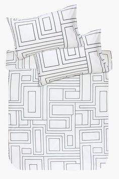Cotton Printed Duvet Cover Set - Duvet Covers - Shop Bedroom - Be