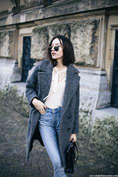 That Cozy Mohair Coat • The Fashion Cuisine