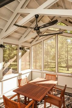 Screened Porch Interior - Traditional - Porch - Indianapolis - Corinthian Fine Homes