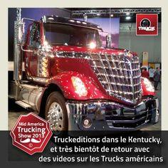 André et Vincent sont au Mid America Trucking Show 2013 à Louisville - USA pour vous concocter des reportages videos sur les americans trucks de 2013 :-))))) http://www.truckeditions.com/-Accueil-.html#.UUxC_hmlVmc