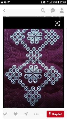 This post was discovered by Lalezar. Discover (and save!) your own Posts on Unirazi. Embroidery Patterns Free, Floral Embroidery, Embroidery Stitches, Hand Embroidery, Crochet Patterns, Cross Stitch Borders, Cross Stitch Designs, Cross Stitching, Cross Stitch Patterns
