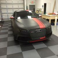 Audi RS5 Matte Black Restyle Custom Car Wrap-Miami-Fort Lauderdale-Palm Beaches- Florida Car Wrap (4)