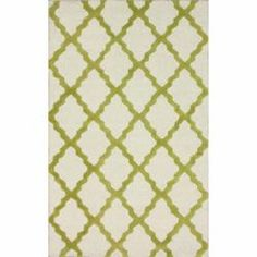 Shop for Hand-hooked Alexa Moroccan Trellis Green Wool Rug (5' x 8'). Get free shipping at Overstock.com - Your Online Home Decor Outlet Store! Get 5% in rewards with Club O!