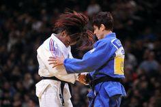 Priscilla Gneto et Ilse Heylen by Alexandre Vandystadt www.alexandrevandystadt.com (Judo Print photo Gallery).
