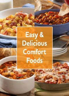 Slow cooker meals mean great comfort food with less effort. Try our easy slow cooker recipes to keep your family full and warm throughout the winter months.