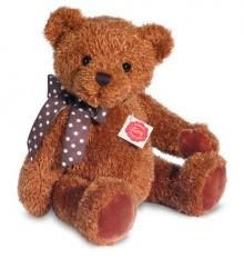 Hermann Original make this lovely soft and cuddly plush teddy bear, with a growler. So huggable.