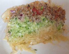 DAY 1 - Geschichtete Sauerkrautpfanne Sauerkraut, Grains, Challenge, Rice, Food, Frying Pans, Eten, Seeds, Meals
