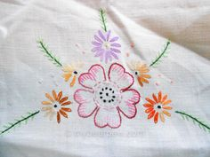 myBearpaw: Vintage Floral Embroidery