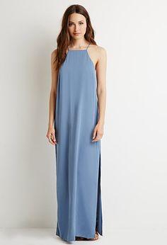 Side-Slit Maxi Dress | Forever 21 - 2000130539