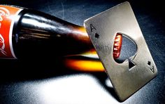 Ace bottle opener