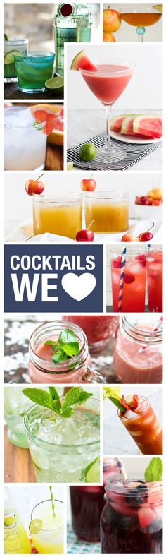 Mix it up tonight and try one of these 14 summer cocktails! Click here to get the recipes!