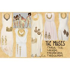 The Muses, created by disneylooks.polyvore.com