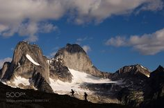 People Hiking by Bugaboos British Columbia Canada by Radius_Images via http://ift.tt/2h5sCWI