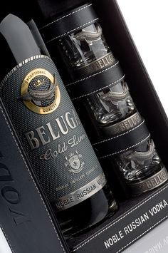 Beluga Gold Line for all our #vodka loving #packaging peeps PD