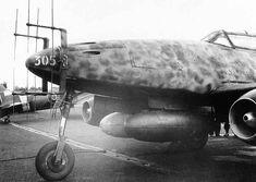 Messerschmitt Me-262 B-1a/U1 captured by RAF