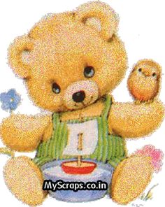 Teddy Bears Scraps - Comments, Images and Graphics for Orkut