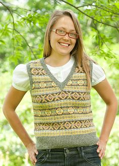 The Fair Isle Vest by Mary Jane Mucklestone 10 HD Video Lessons $39.99 on Craftsy at http://www.craftsy.com/class/the-fair-isle-vest-stranded-and-steeked/103