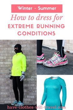 7d22bdc788ea How to Dress for Extreme Running Conditions from Winter to Summer    Living  in a