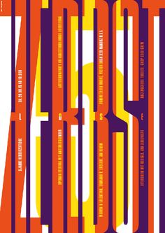 Poster for Herbstzeitlose Festival 2015.